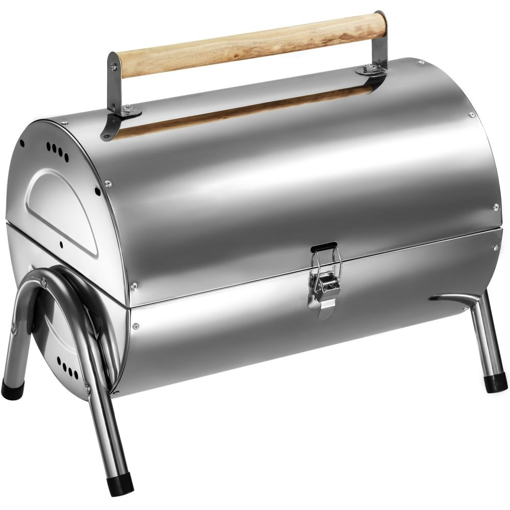 BBQ grill in roestvrij staal