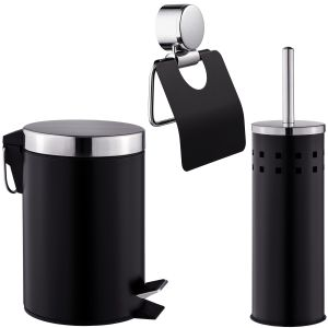 3-delig bad-toilet set