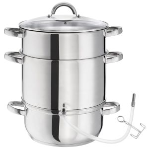 Roestvrij staal AISI 430 Stoomextractor Ø 26cm