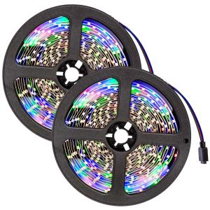 2x LED strip 5m met 300 LED's